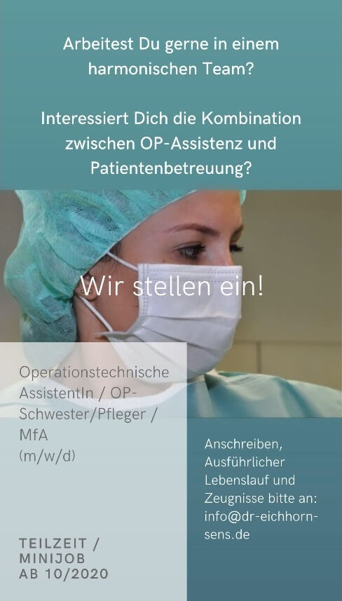 Stellenangebote, OP-Pflege, MFA, OP-Schwester, offene Stellen, Jobs, Join the Team