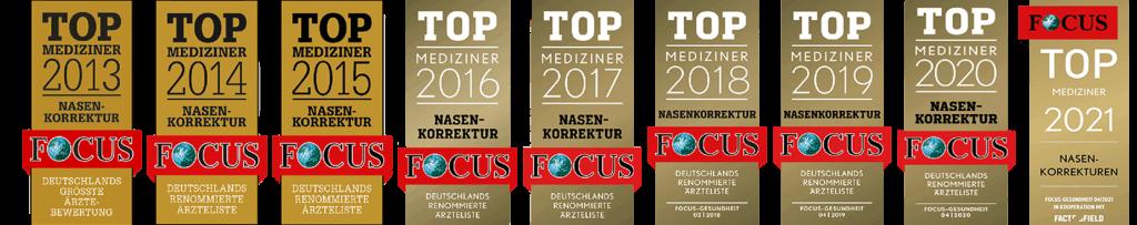 Focus Bester Nasenchirurg
